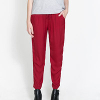 CHINO TROUSERS - Trousers - TRF | ZARA United States