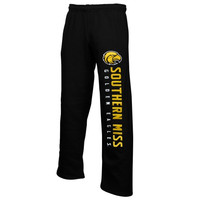 Southern Miss Golden Eagles Couch Island Fleece Sweatpants – Black