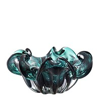 Green Glass Bowl | Eichholtz Triada