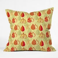 Rosie Brown Autumn Splendor Throw Pillow