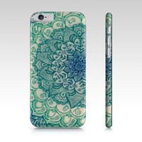 Emerald Doodle iPhone 6 Case by Micklyn Le Feuvre (iPhone 6)