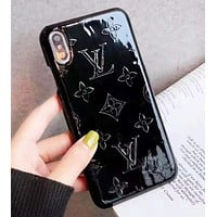 Louis Vuitton LV Fashion New Monogram Leather Protective Cover Phone Case