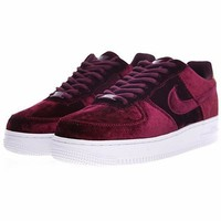 Nike Air Force 1 '07 Low Velvet ¡°Wine Red¡±896185-600