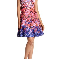 Maggy London | Sunset Bloom Fit & Flare Dress | Nordstrom Rack