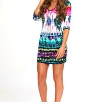 Star Of The Show Dress: Multi - Dresses - Hope's Boutique