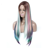 Long Hand-woven Synthetic Wigs
