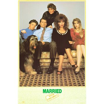 """Poster: Married with Children Cast (23""""x35"""")"""