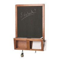LUNS Writing/magnetic board, antique stain - 48x71 cm - IKEA