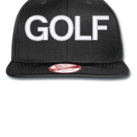 golf wolf odd future - New Era Flat Bill Snapback Cap
