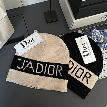 Dior 2021aw new knitted cold hat