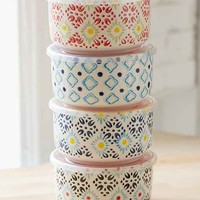 Ceramic Food Storage Bowl Set