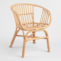 Natural Rattan Rachelle Chair Set of 2