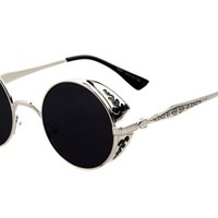 Arctic Star Gothic steampunk retro UV sunglasses