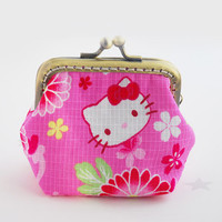 Hello kitty little coin Purse