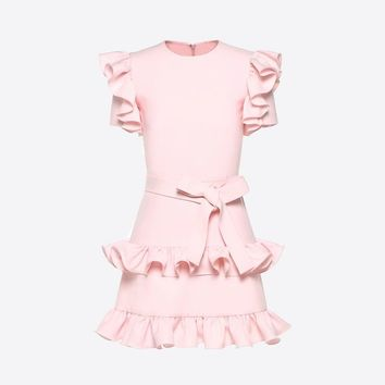 Crepe Couture Dress for Woman | Valentino Online Boutique