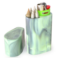 Smoke Space - Cigarette Case - Bic Lighter Sleeve - Smoking Accessory - Lighter case (Colors)