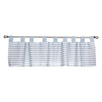 Baby Nursery Ideas - Blue Sky Window Valance