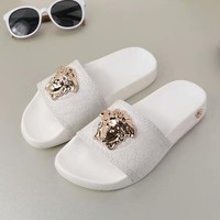 Versace Women Fashion Casual Slipper Shoes-2