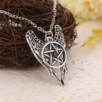 Supernatural Angel Wings Necklace