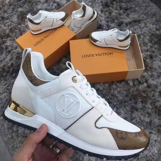 Image of Louis Vuitton LV ladies sneakers new fashion men's letter logo printing casual sports shoes