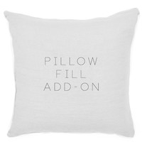 Pillow Fill Add-On