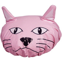 Shower Cap - Pink Cat | Unusual Gifts | Free Delivery | ShinyShack.com