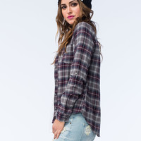 FULL TILT Classic Womens Flannel Shirt | Flannels $19.99