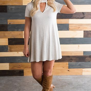 Back To You Dress (Heather Grey)