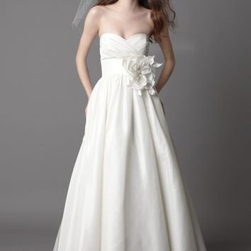 Wtoo by Watters Mimi 15828 Strapless A-Line Taffeta Wedding Dress
