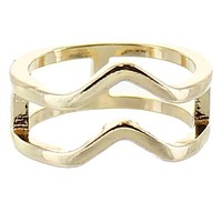 Wave Gold Ring