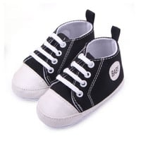 Baby Shoes Boy Girl Canvas Shoes Infants Casual Shoes Newborn Soft Bottom First Walkers Toddler Antislip Shoes Boots 12 Colors
