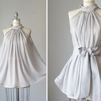 Top / Sheer / Misty Dream / Classic / Tunic / Pixie / gray  / Spring / Angel / Alice in the Wonderland / Sleeveless