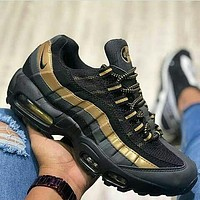 Nike Air Max95 fashion retro men's and women's sneakers Air-Sole cushioned cushioning running shoes