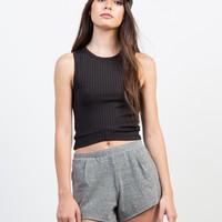 Stretch and Flow Casual Shorts