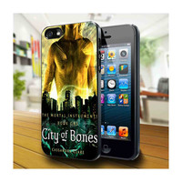 Case iphone 4 and 5 for city of bones book by DawandaOnlineShop