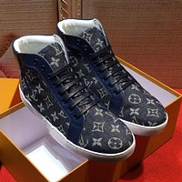 Boys & Men Louis Vuitton Fashion Casual Flats Shoes Boots Shoes