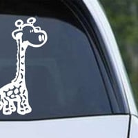 Giraffe Cute Baby Safari Wildlife Die Cut Vinyl Decal Sticker