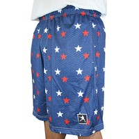USA Stars Lacrosse Shorts | Lacrosse Unlimited