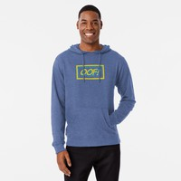 'Oof, Gamer quote' Lightweight Hoodie by Sarah Davies