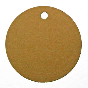 60 Print-On Micro Perforated Circle Hang and Gift Tags, 2 x 2 inches