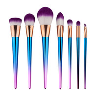 2016 NEW Techniqueing 6-7 Pcs Makeup Brushes Set Synthetic Hair Make Up Brushes Tools Cosmetic Foundation Brush Kits