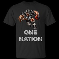 One Nation Football Player Custom Ultra Cotton T-Shirt