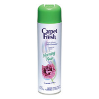 Carpet Fresh 280136 No-Vacuum Aerosol Foam Carpet Odor Eliminator, 10.5 oz. Morning Rain Fragrance