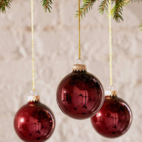 Glass Ball Ornament Set - Urban Outfitters