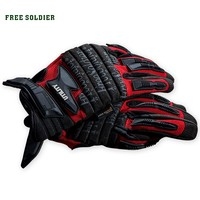 FREE SOLDIER Outdoor camping tactical touch screen gloves men's wear-resisting gloves for Mobile Phone Tablet Pad