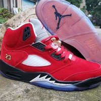"Air Jordan 5 x Trophy Room ""University Red"""