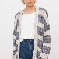 OBEY Rosewell Striped Cardigan
