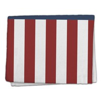"Stars and Stripes American Flag 11""x18"" Dish Fingertip Towel All Over Print"