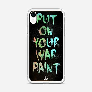 Fall Out Boy Lyrics Just One Yesterday iPhone XR Case