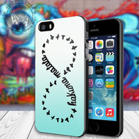 Hakuna Matata Lion King Inspired Infinity Symbol Sign Cover Case for Your iphone 4/4s/5/5s/5c or samsung galaxy s3/s4